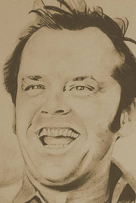 Jack Nicholson Drawing - Jack  by Darl Papple