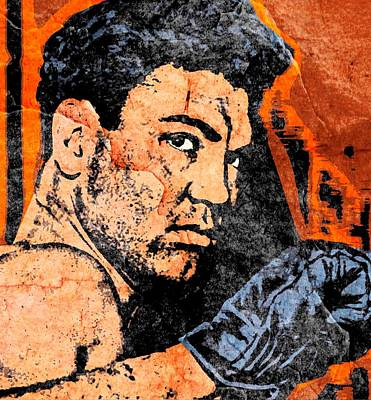 Heavyweight Mixed Media - Jack Dempsey 3 by Otis Porritt