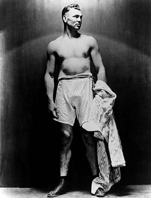 Barechested Photograph - Jack Dempsey, Circa 1920s by Everett