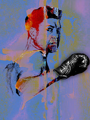 Heavyweight Mixed Media - Jack Dempsey Collection by Marvin Blaine