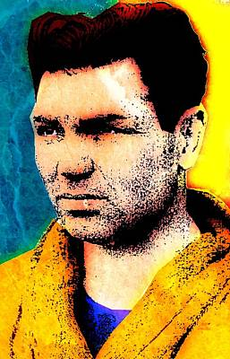 Heavyweight Mixed Media - Jack Dempsey by Otis Porritt