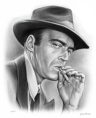 Drawings Royalty Free Images - Jack Elam Royalty-Free Image by Greg Joens