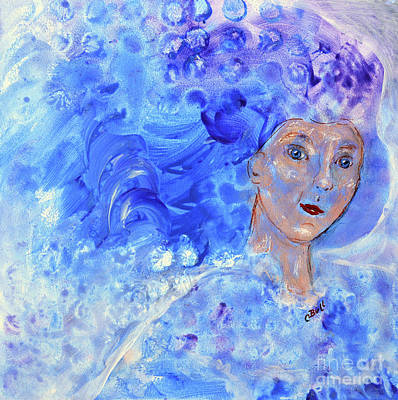 Original featuring the painting Jack Frost's Girl by Claire Bull