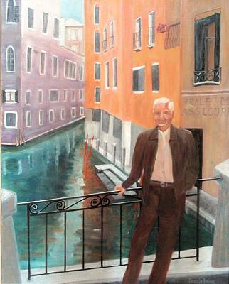 Painting - Jack In Venice by Jamie Frier