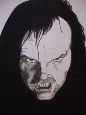 Jack Nicholson Drawing - Jack by John Prestipino
