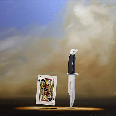 Painting - Jack Knife by Robert Deyber
