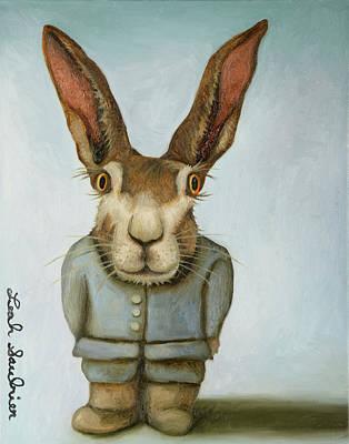 Jack Rabbit Painting - Jack by Leah Saulnier The Painting Maniac