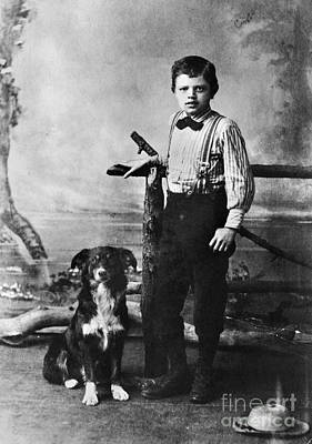 Photograph - Jack London (1876-1916) by Granger