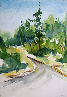 Painting - Jack London State Park by Tom Simmons
