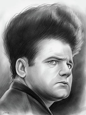 Jack Nance Art Print by Greg Joens