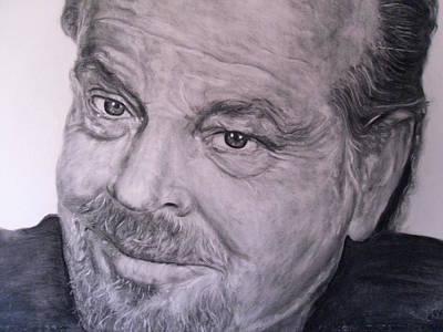 Jack Nicholson Drawing - Jack Nicholson by Adrienne Martino
