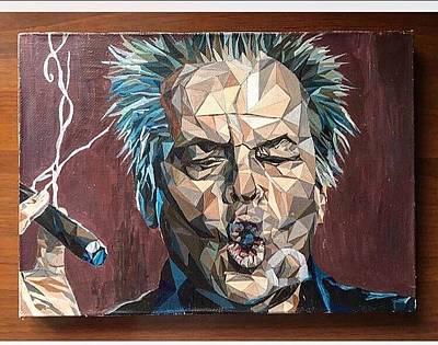 Jack Nicholson Drawing - Jack Nicholson by Anna Treshchina