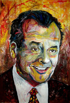 Jack Nicholson Painting - Jack Nicholson by Marcelo Neira