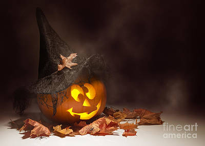 Black Lace Photograph - Jack O Lantern by Amanda Elwell