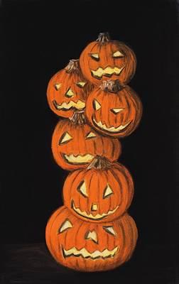Jack-o-lantern Original by Anastasiya Malakhova