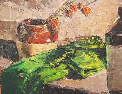 Painting - Jack O Lanterns by Len Stomski