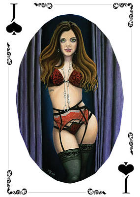 Painting - Jack Of Spades by Joseph Ogle