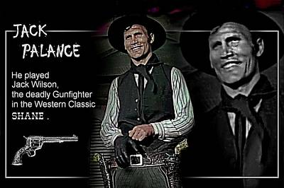 Digital Art - Jack  Palance by Hartmut Jager