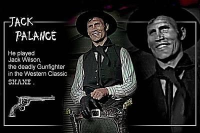 Jack Palance Digital Art - Jack  Palance by Hartmut Jager