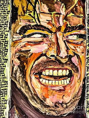 Jack Nicholson Painting - Jack by Paula Baker