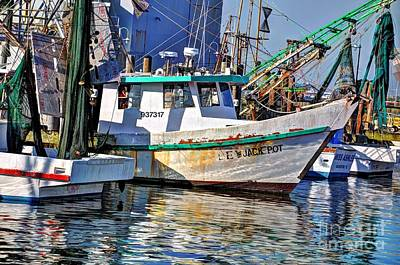 Photograph - Jack Pot Shrimp Boat by Savannah Gibbs
