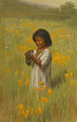 Jack Rabbit Painting - Jack Rabbit by Grace Carpenter Hudson