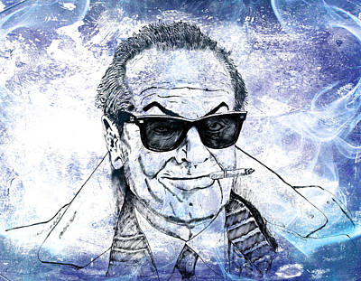 Jack Nicholson Drawing - Jack by Richard Rabassa