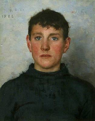 Jack Rolling Original by Henry Scott Tuke