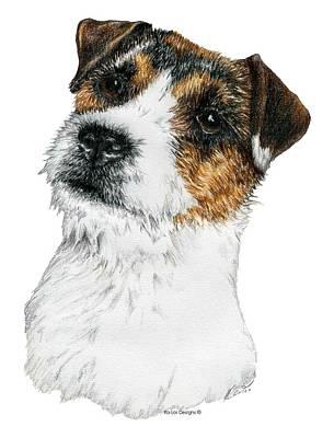 Dog Drawing - Jack Russel Terrier by Kathleen Sepulveda