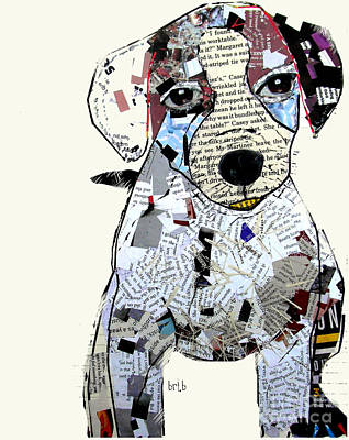 Jack Russell Painting - Jack Russell by Bleu Bri