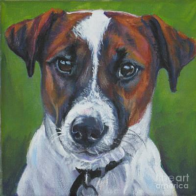 Painting - Jack Russell Terrier by Lee Ann Shepard