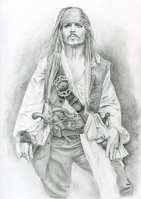 Jack Sparrow, Bring Me The Horizon Art Print by Bitten Kari