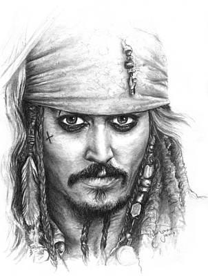 Jack Sparrow Art Print by Ryan Jones
