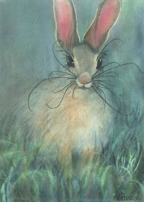 Painting - Jack-the-rabbit by Anne Havard
