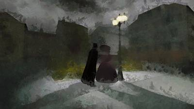 Medieval Painting - Jack The Ripper by Esoterica Art Agency