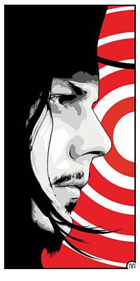 Jack White Digital Art - Jack White by Jeff Nichol
