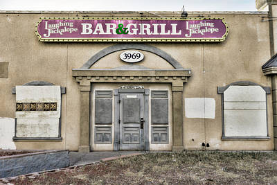 Photograph - Jackalope Bar And Grill by Sharon Popek