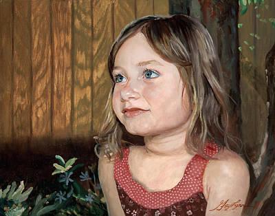 Painting - Jackie by GayLynn Ribeira