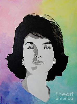 Painting - Jackie Kennedy by Deb Breton