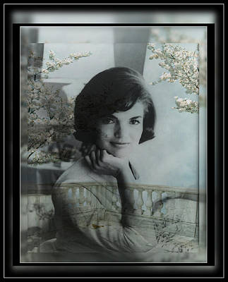 Photograph - Jackie Kennedy by Ericamaxine Price