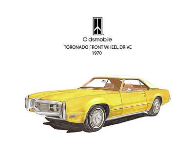 Muscle Car Painting - Jacks 1970 Olds Toronado by Jack Pumphrey