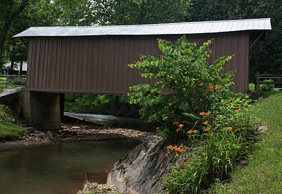 Photograph - Jacks Covered Bridge II by Suzanne Gaff