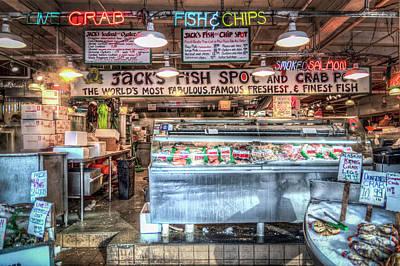 Photograph - Jacks Fish Spot And Crab Pot by Spencer McDonald