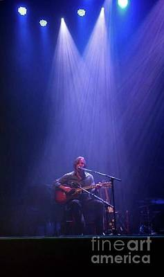 Jackson Browne Photograph - Jackson Browne Acoustic by Marta Robin Gaughen