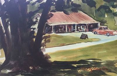 Painting - Jackson Country Store by JULES Buffington