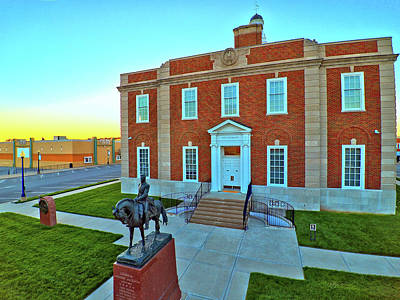 Photograph - Jackson County Courthouse by Dave Luebbert