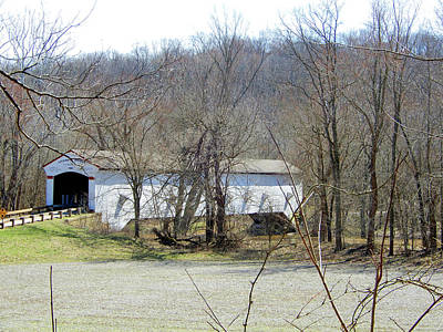 Photograph - Jackson Covered Bridge by Tina M Wenger