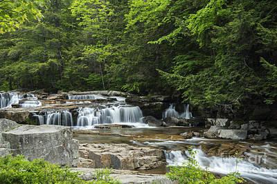 Photograph - Jackson Falls II by Alana Ranney