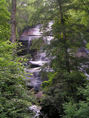 Photograph - Jackson Falls North Carolina by rd Erickson