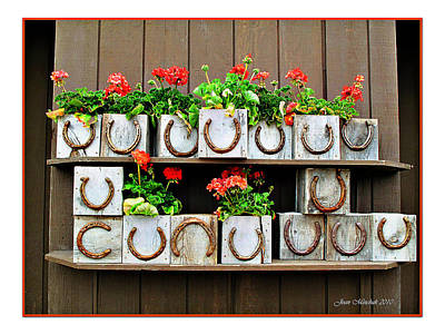 Photograph - Jackson Hole Planters by Joan  Minchak